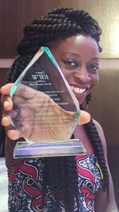 Hebe Founder Amie Buharie, winner of the Wise Woman Award 2016